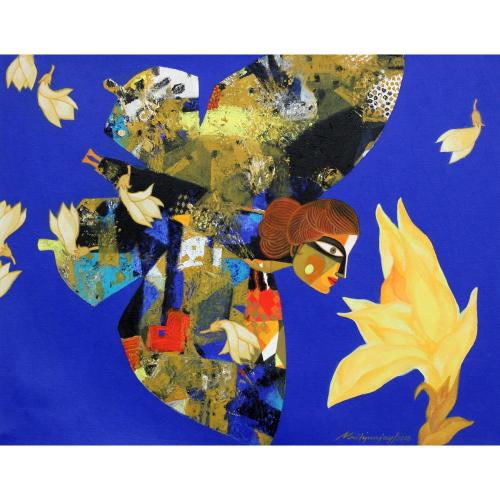 Mrityunjay Mondal figurative painting