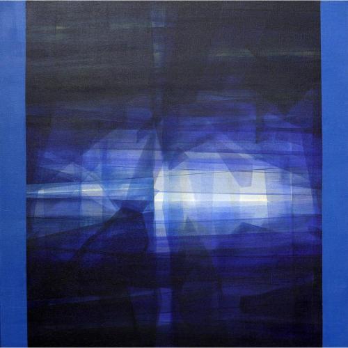 Mukhtar kazi abstract painting