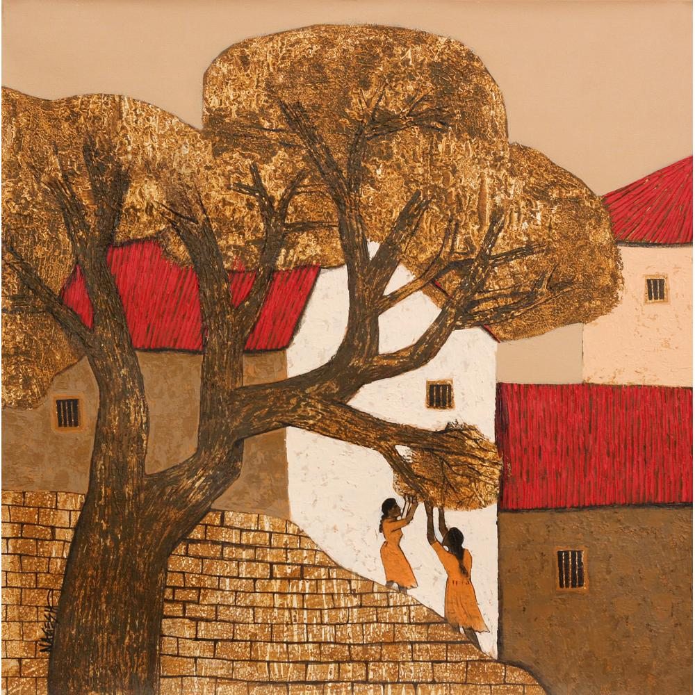 Nagesh Ghodke Landscape painting