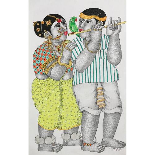 Narahari Bhawandla figurative painting