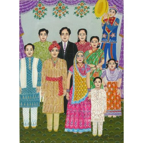 Nayanaa Kanodia watercolour painting