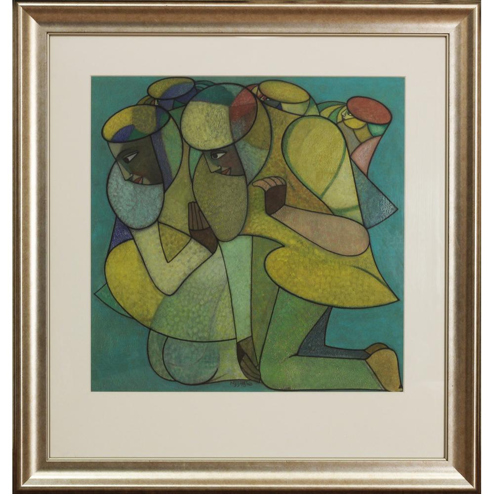 Neeraj Goswami figurative painting