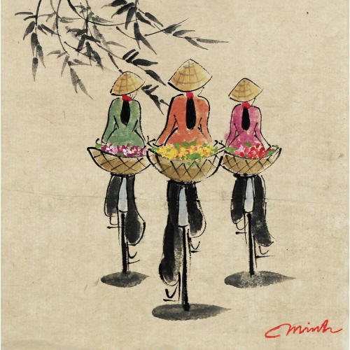 Nguyen Minh Hong watercolour painting