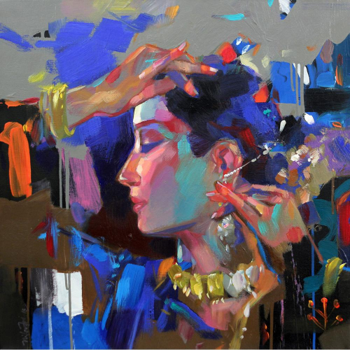 Niladari Paul figurative painting