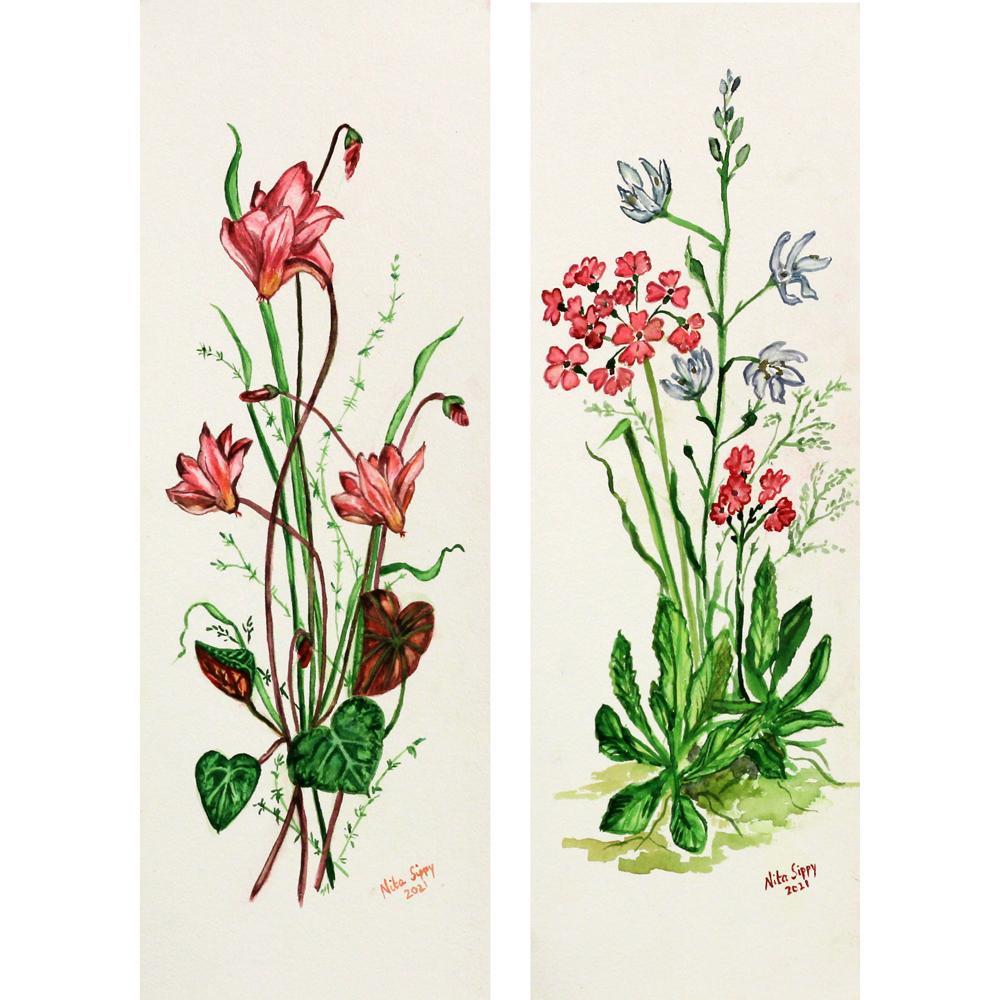 Nita Sippy flower painting