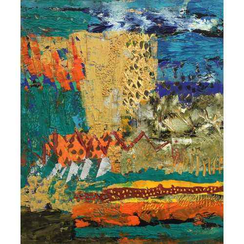 Nupur Kundu abstract painting