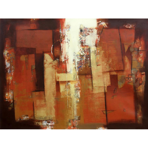 P J Stalin abstract painting