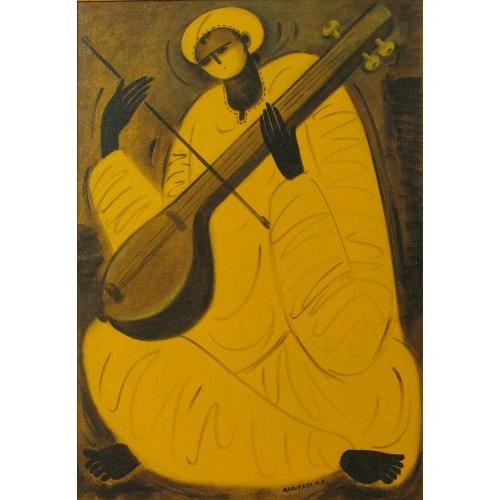PR Narvekar figurative painting