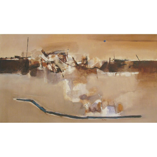 Pandurang Tathe abstract painting