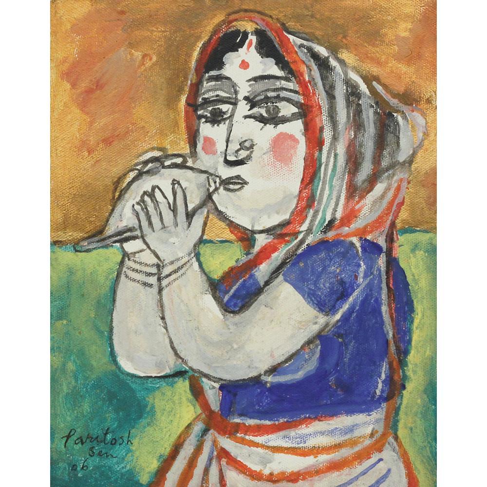 Paritosh Sen figurative painting