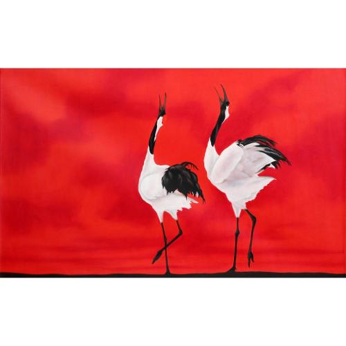 Pradeep Mishra Birds painting