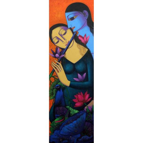 Prakash Deshmukh figurative painting