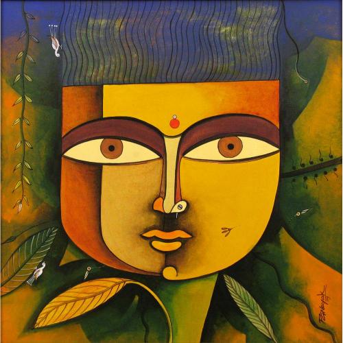 Prakash Nayak figurative painting
