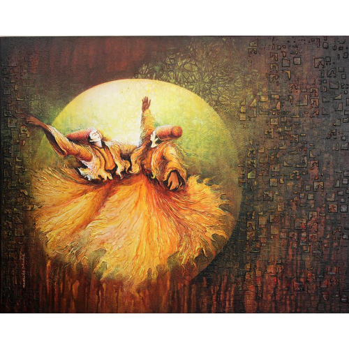 Radhika Seksaria figurative painting
