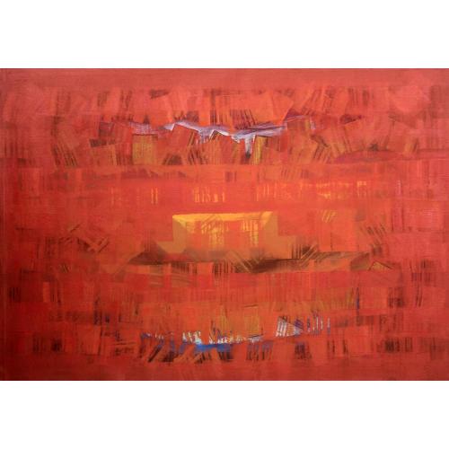 Raghu Neware abstract painting