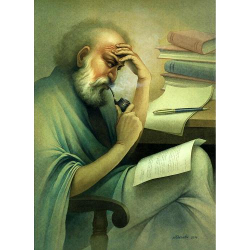 Rajib Gain figurative painting
