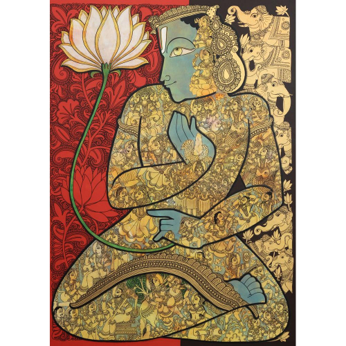 Ramesh Gorjala vishnu painting