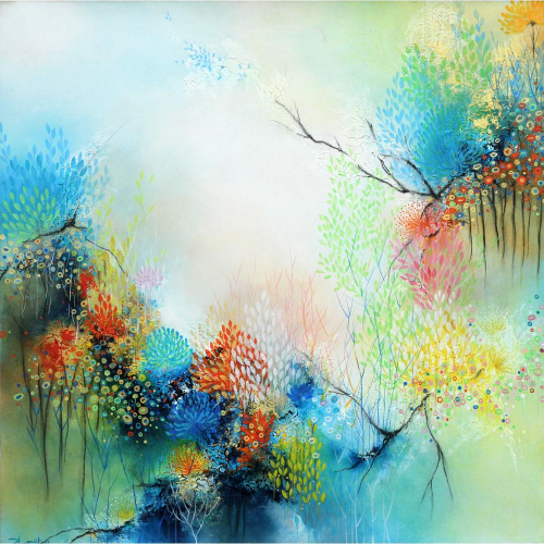 Ranjeet Patil abstract painting