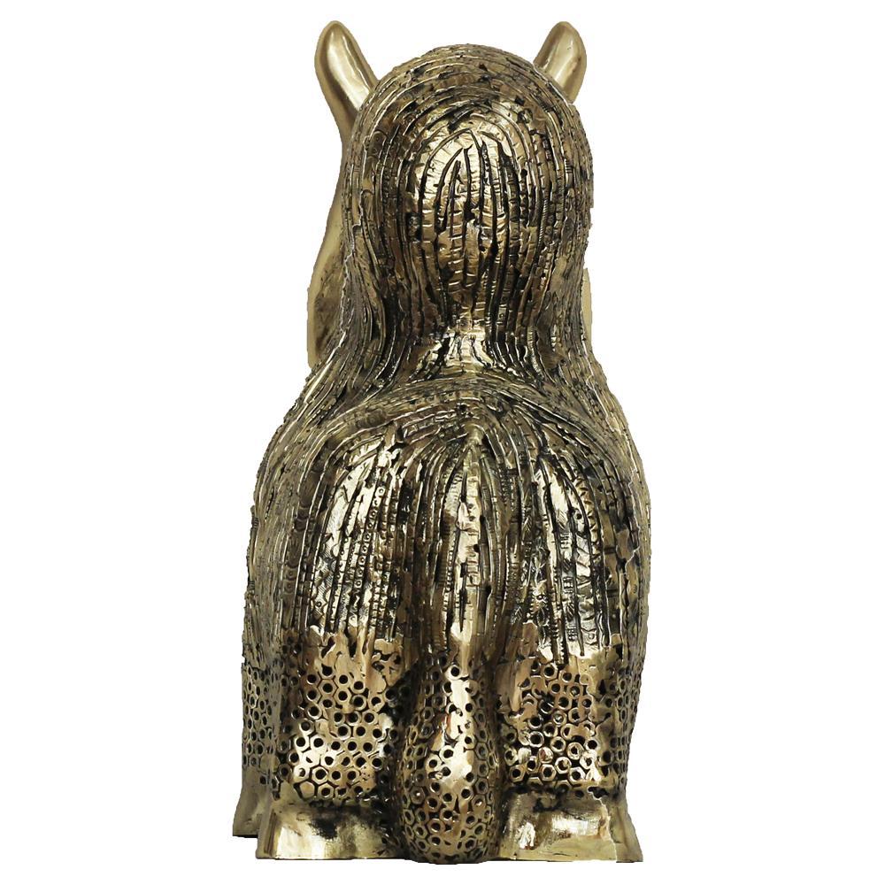 Ratan Saha bronze sculpture