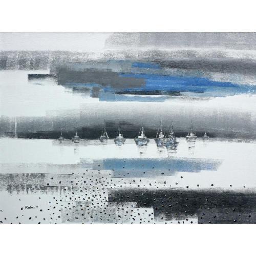 Reba Mandal landscape painting