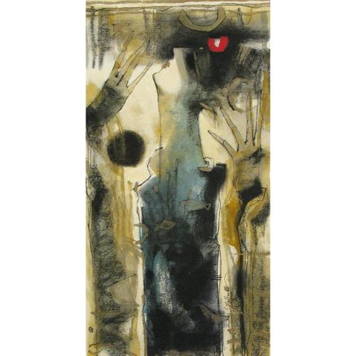 Sachin Jaltare figurative painting