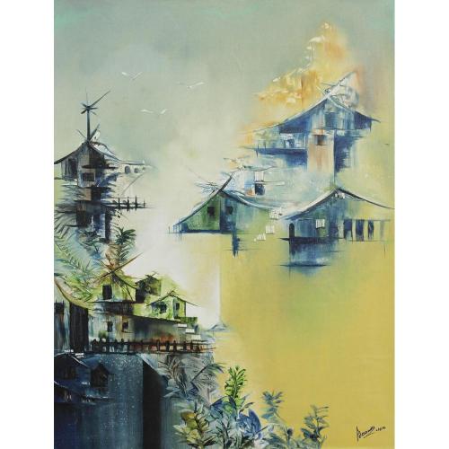 Samir Deshmukh landscape painting