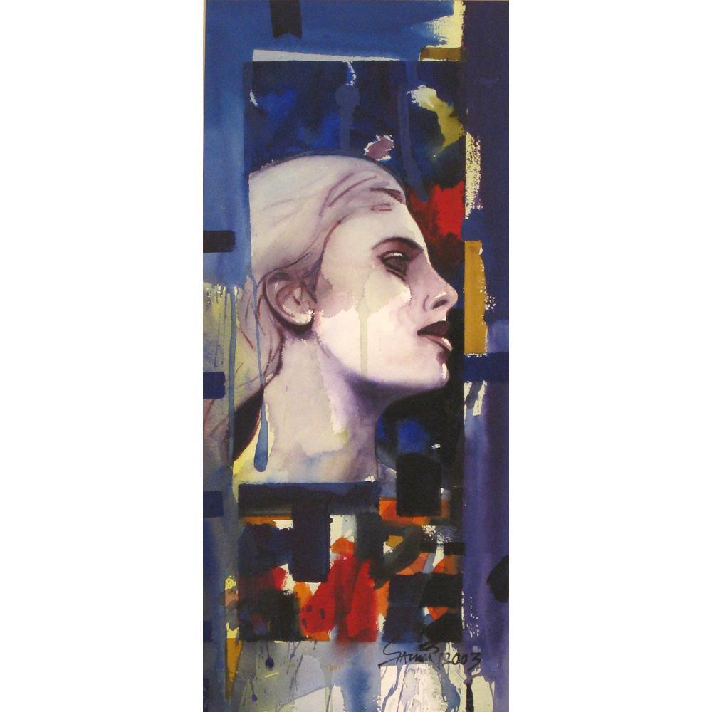 Samir Mondal figurative painting