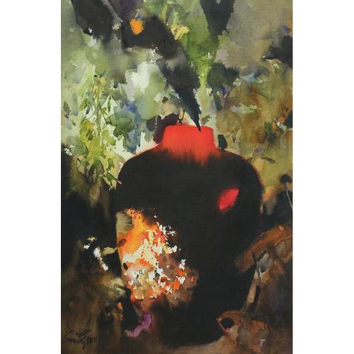Samir Mondal Still life painting