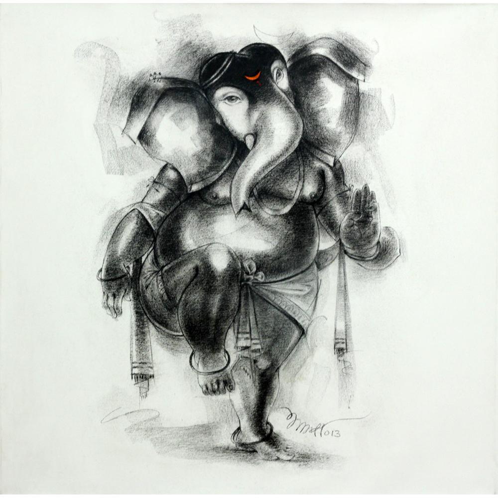 Sanjay Bhalerao Ganesha painting