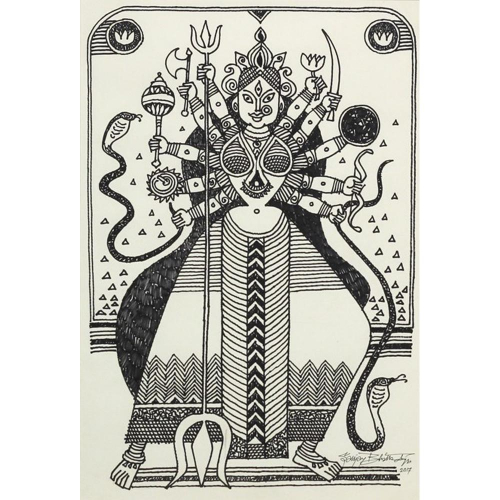 Sanjay Bhattacharya figurative painting
