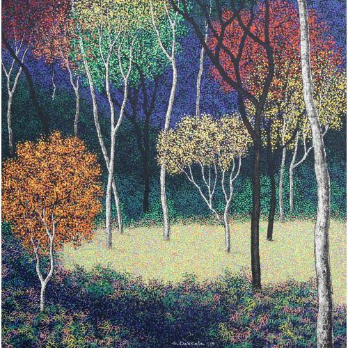 Sanjay Devsale landscape painting