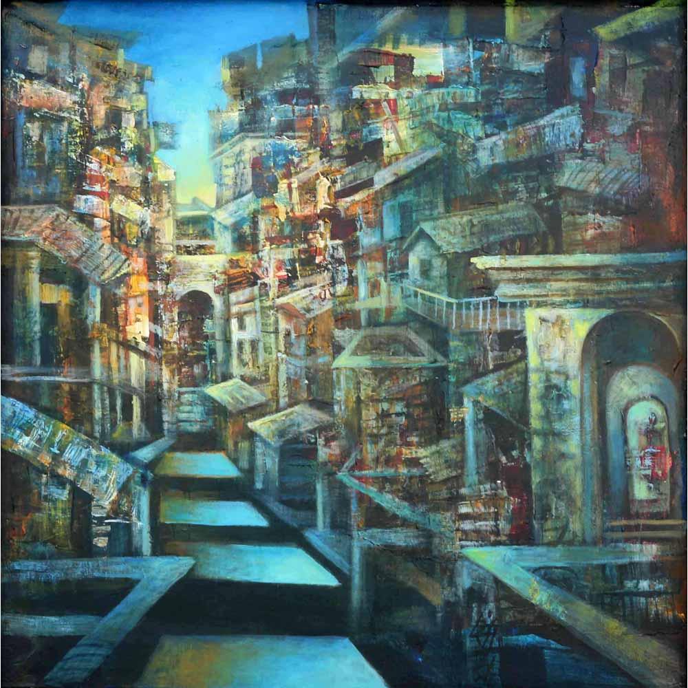 Sanjay Kumar Benares painting