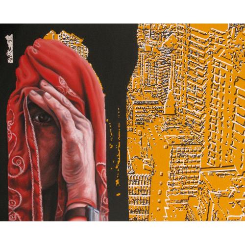 Sanjeev Sonpimpare figurative painting
