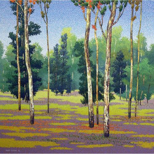 Satish Mane landscape painting