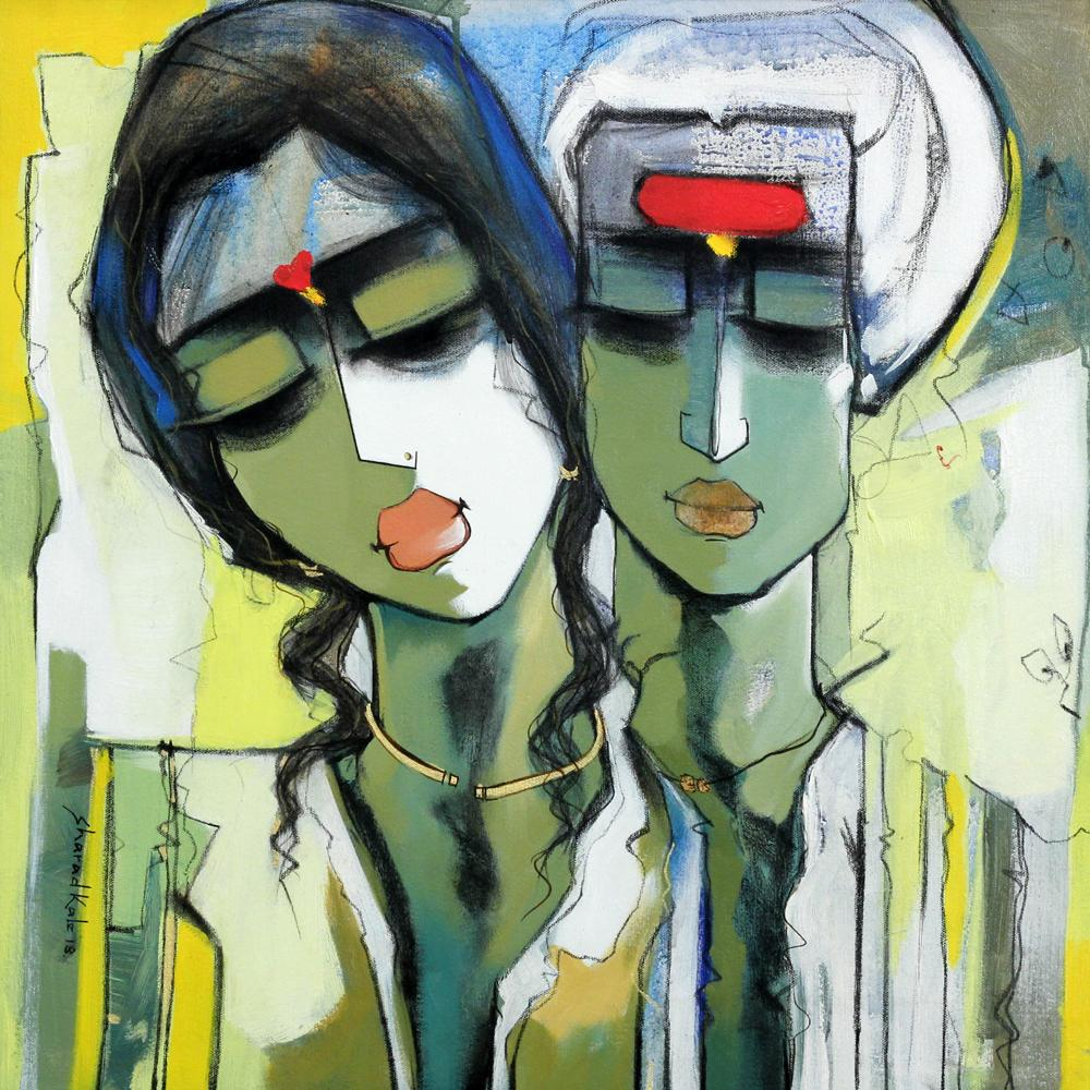 Sharad Kale figurative painting