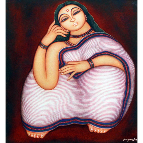 Shekhar Paul figurative painting