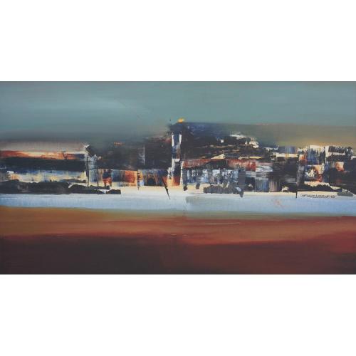 Shyam Landge abstract painting