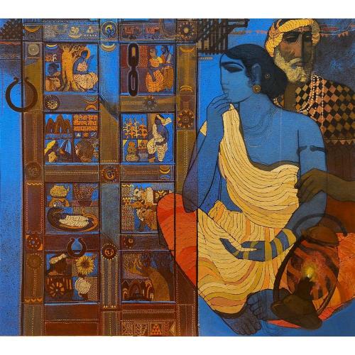 Siddharth Shingade Door painting