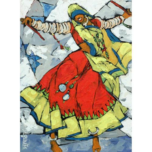 Subodh Poddar figurative painting