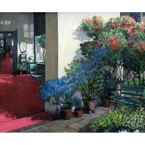 Sududdha Ghosh landscape painting
