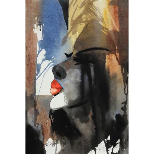 Sudhir Talmale watercolour painting