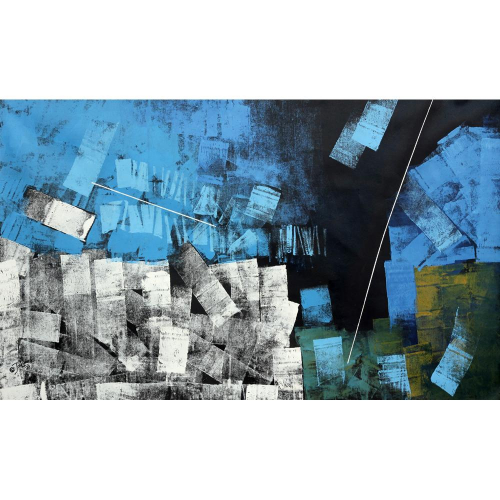 Sudhir Talmale abstract painting