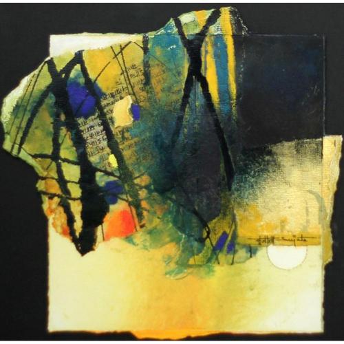 Sujata Bajaj abstract painting