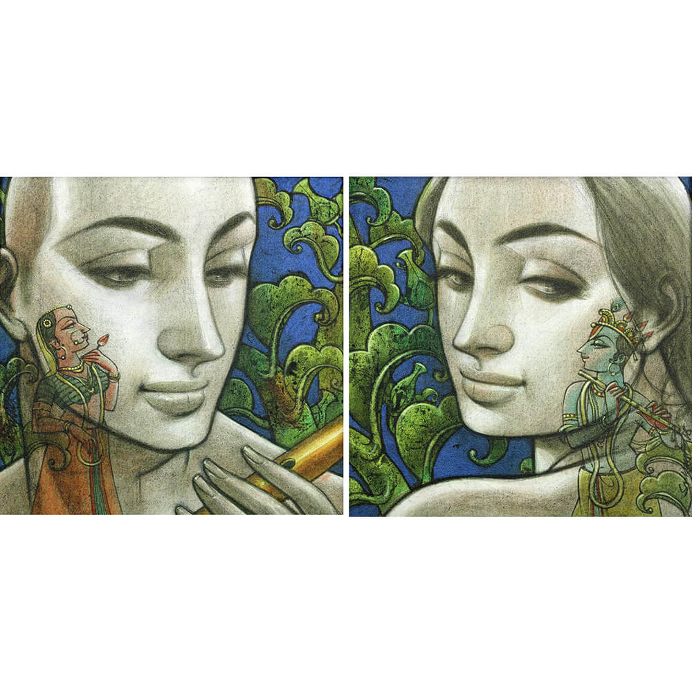 Sukanta Das figurative painting