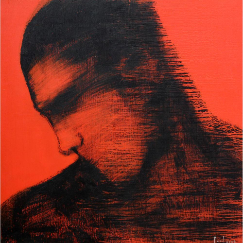 Sunil Padwal figurative painting