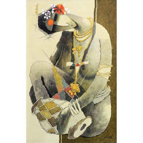 Surendra Pal Singh figurative painting