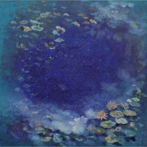 Surya Prakash abstract painting