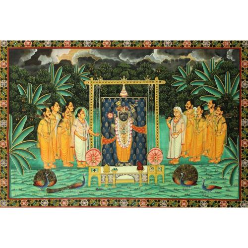 Sushil Soni Shrinathji Pichwai painting