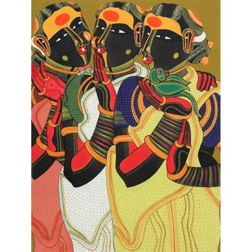 Thota Vaikuntam figurative painting