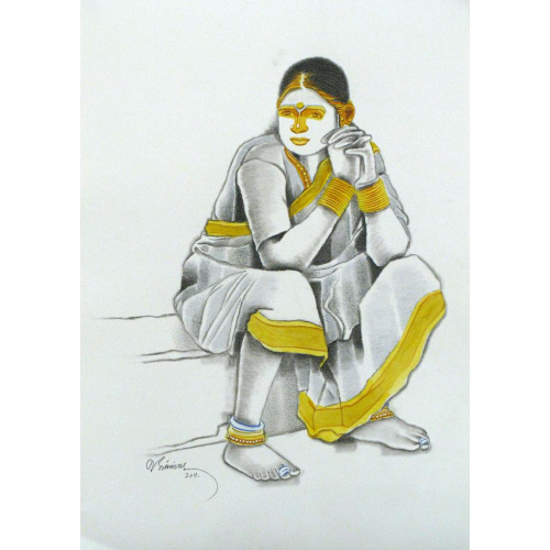 Tallor Srinivas figurative painting